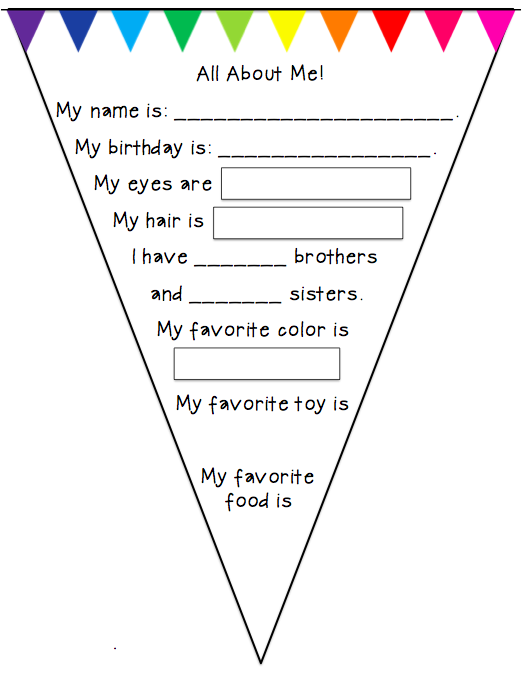 math worksheet : preschool wonders july 2014 : All About Me Worksheets For Kindergarten