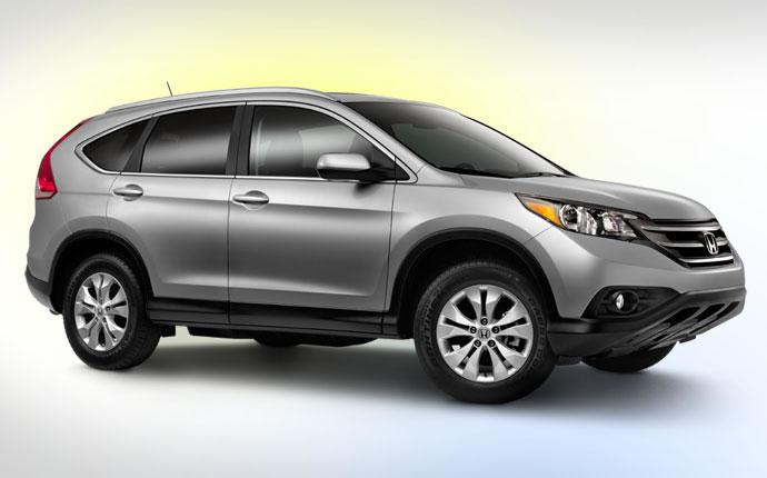 2014 Honda CR-V grey