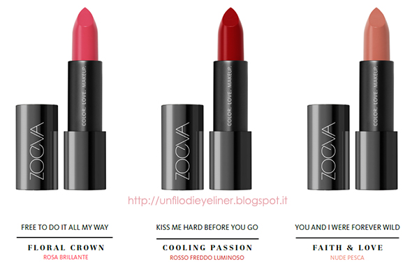 News: Zoeva - LUXE CREAM LIPSTICK