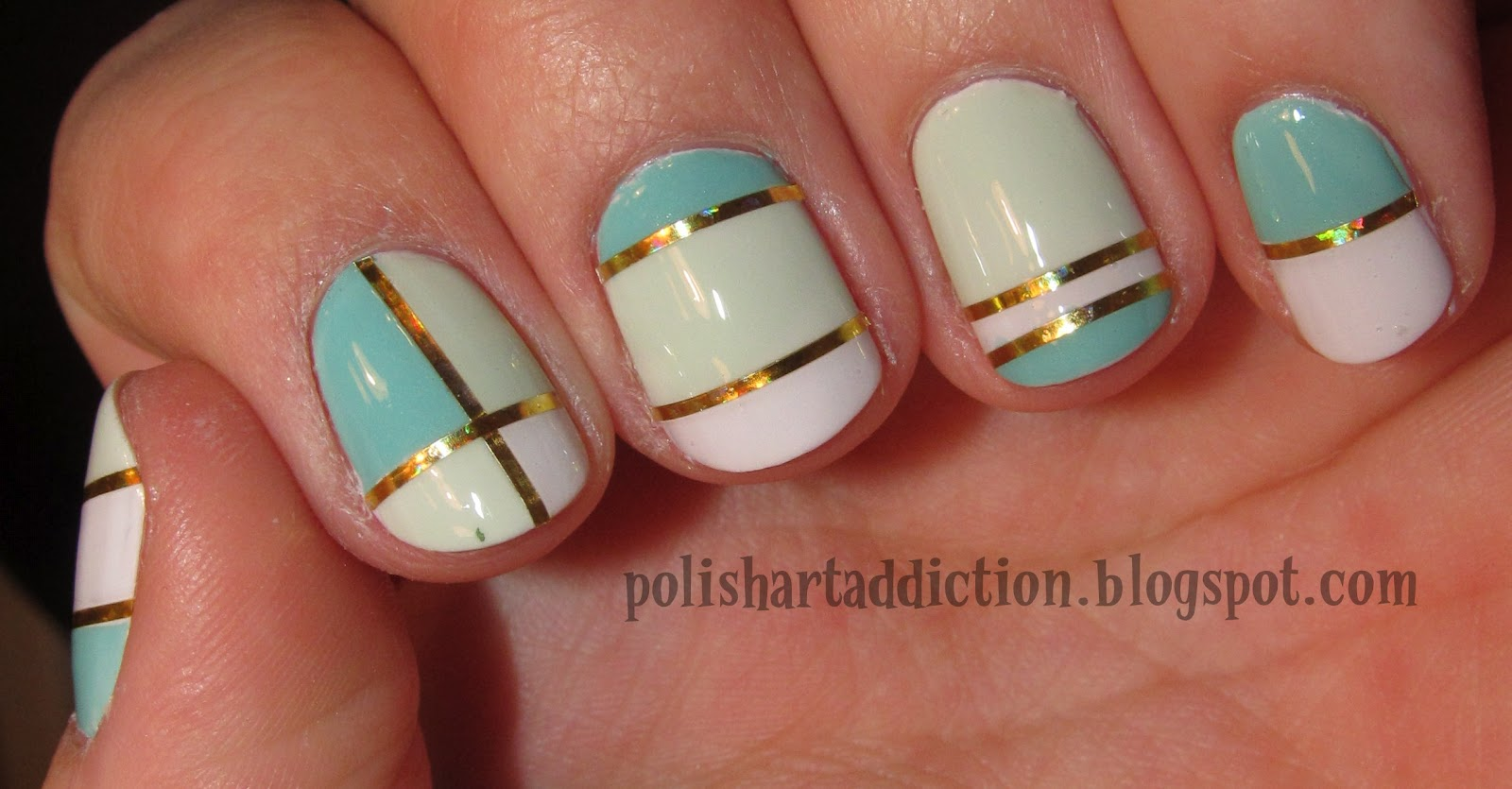 Toe Nail Designs Using Tape: Nail art pedicure designs toe mani asked.