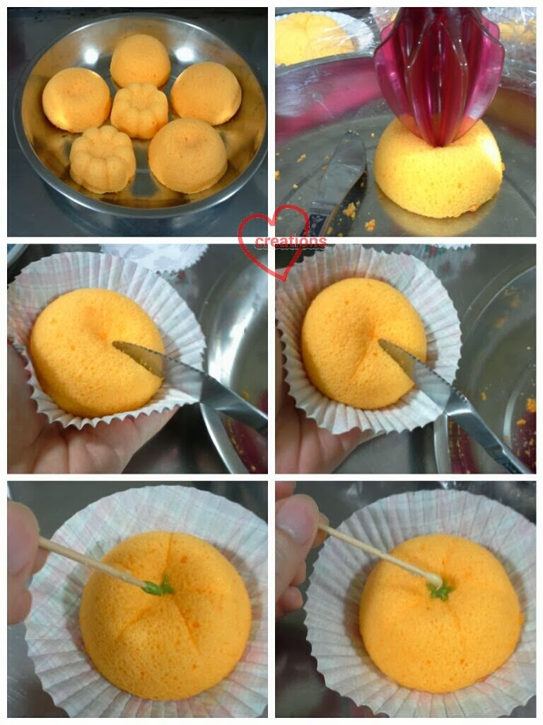 how to make orange chiffon cake video