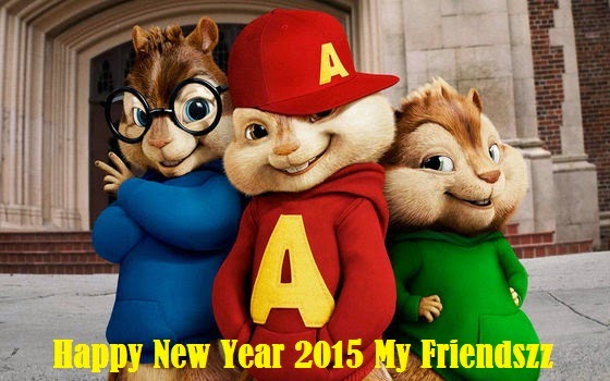 New year Alvin and Chipkuns wallpaper for kids