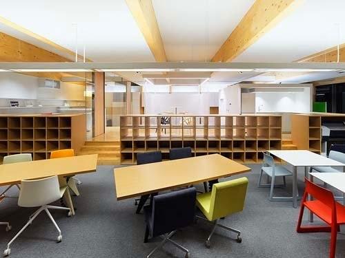 Den en office design ideas in japan for Den office design ideas