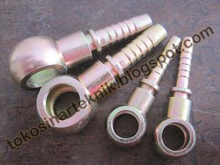 Nepel/Fitting BANJO, umum digunakan pada alat berat, mesin industri dan otomotif
