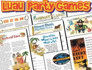 Old Fashioned image with printable luau party games
