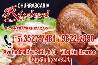 Ricieri CHURRASCARIA Reservas p/ festas e confraternização
