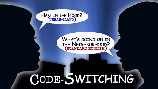 linguistics and speakers practice code switching Code-switching in sociolinguistic studies  defines code-switching as the speaker's use of different  the practice of code-switching is motivated and constrained.
