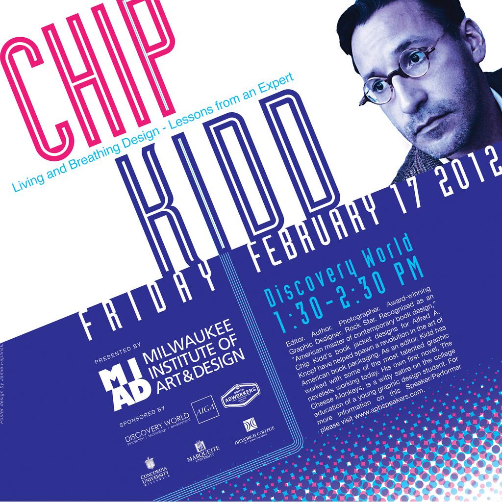 Chip Kidd Work Hard Follow The Wind