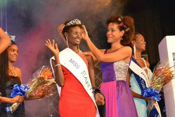Miss Earth Tanzania 2013 winner Clara Noor