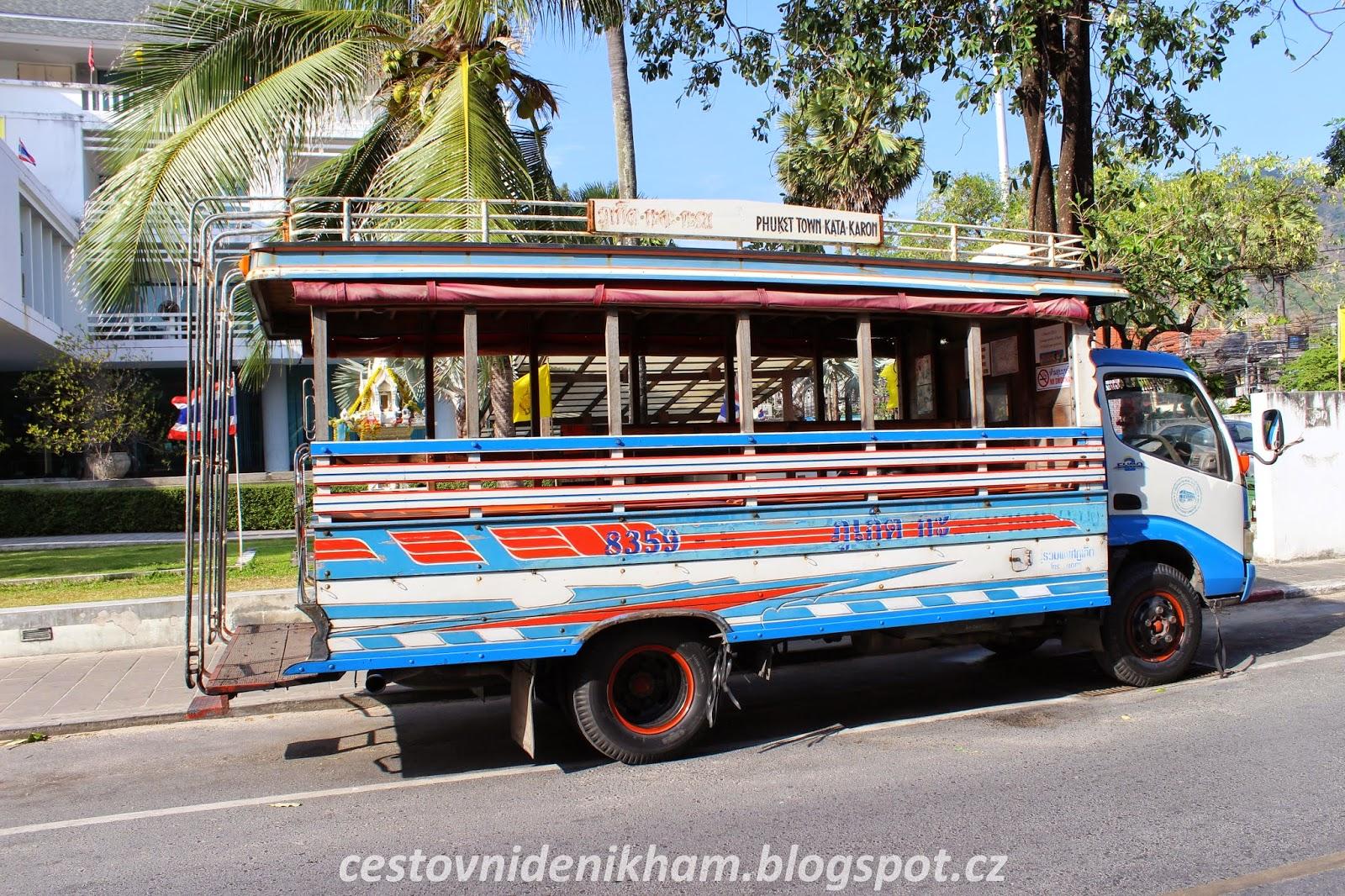 místní autobus // local bus
