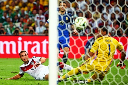 Gol Mario Gotze Final Copa do Mundo 2014