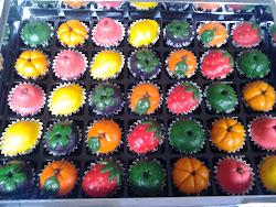 Tart Nenas bentuk buah-buahan