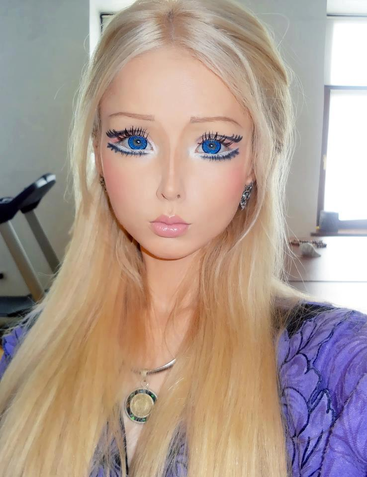 brainwashed by barbie what a doll bleeding blue amp white