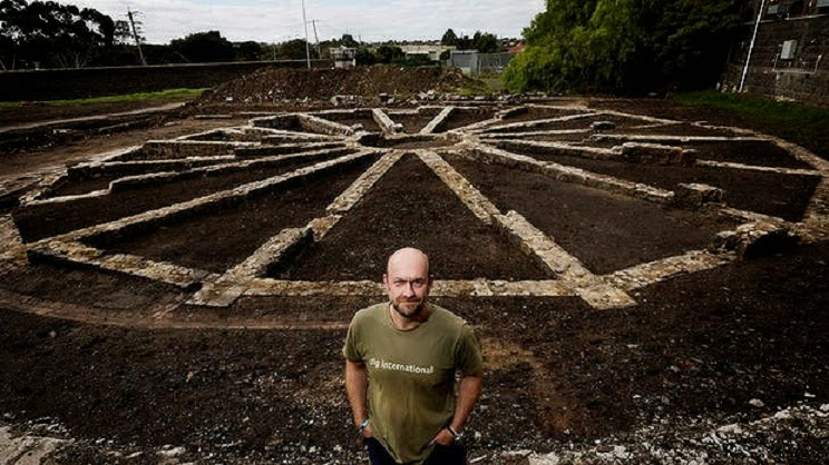 1850s cell block unearthed at historic Australian prison