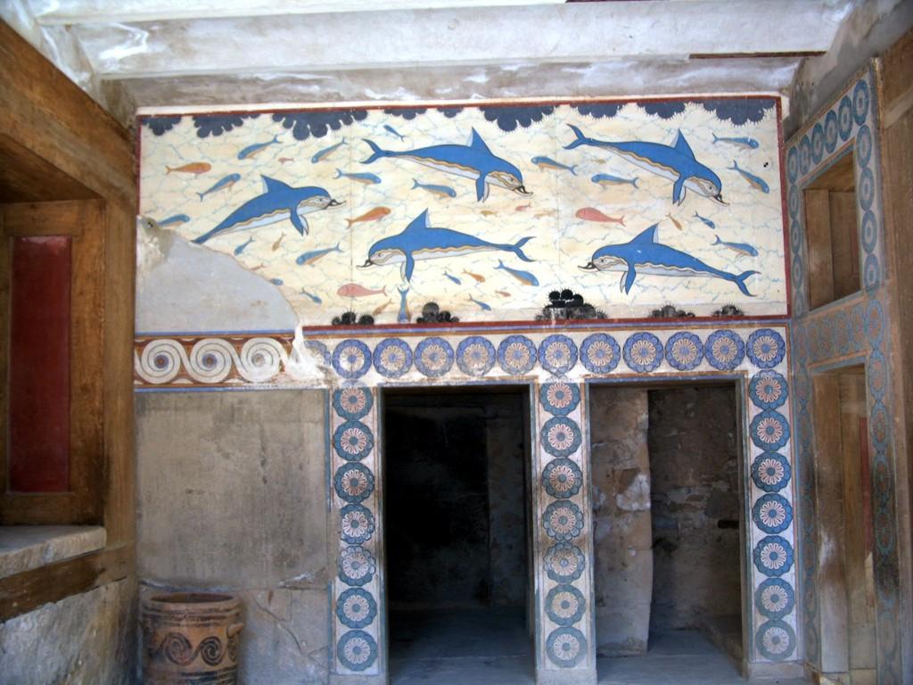 Maravillas del mundo antiguo iv el palacio de cnosos creta for Sala maravillas