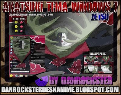 TEMAS de NARUTO PARA WINDOWS XP Y 7 ZT7P