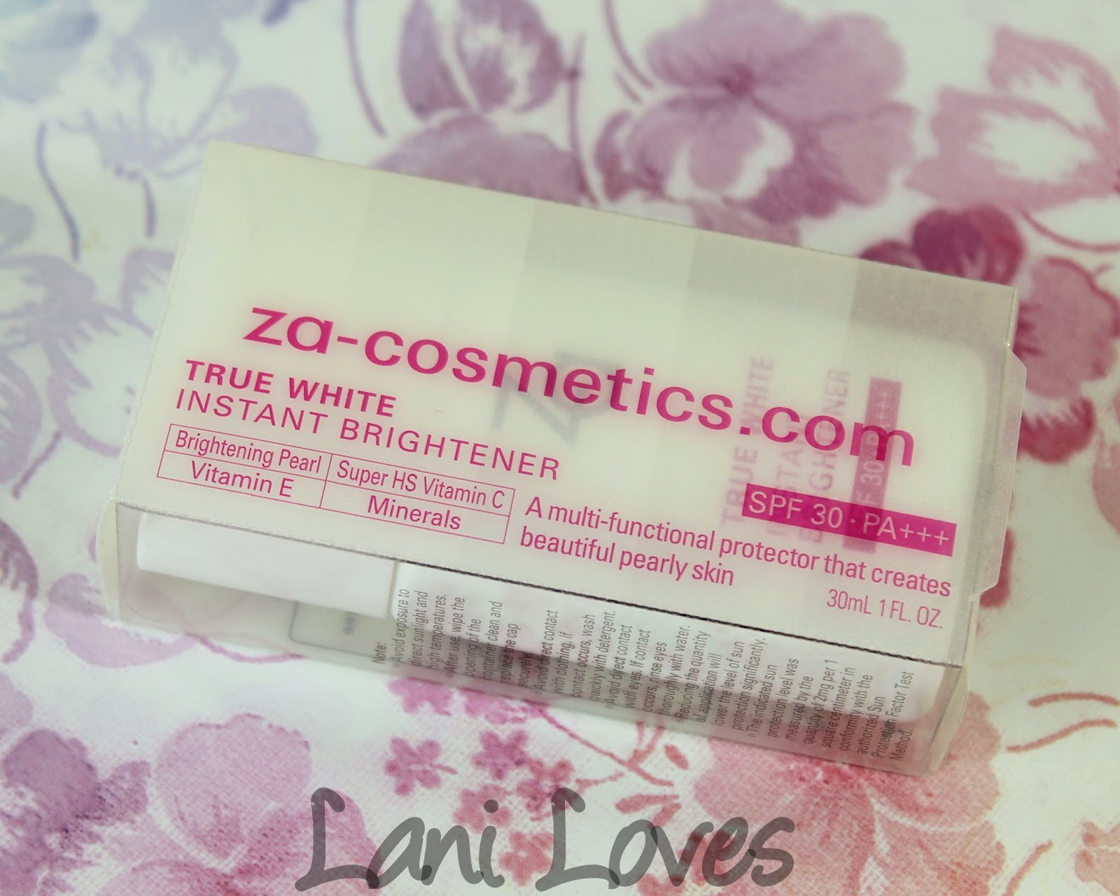 ZA True White Instant Brightener Swatches & Review