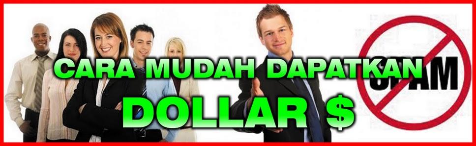 Tinggal Klik Dolar mengalir