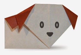 Origami Tutorials - How to make a Dog with Video