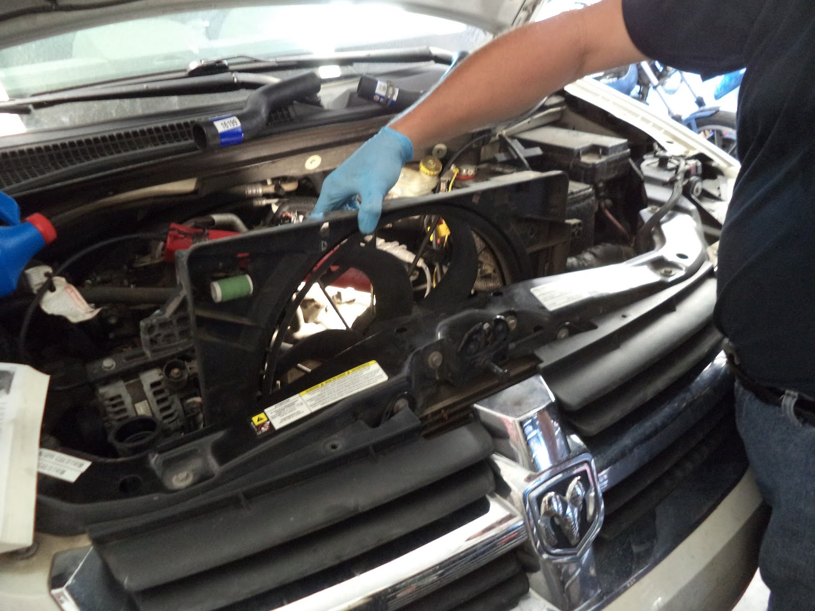 how to take out captiva radiator
