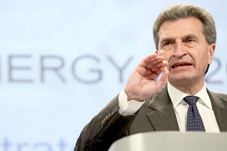 Günther Oettinger wants a pan-European energy market