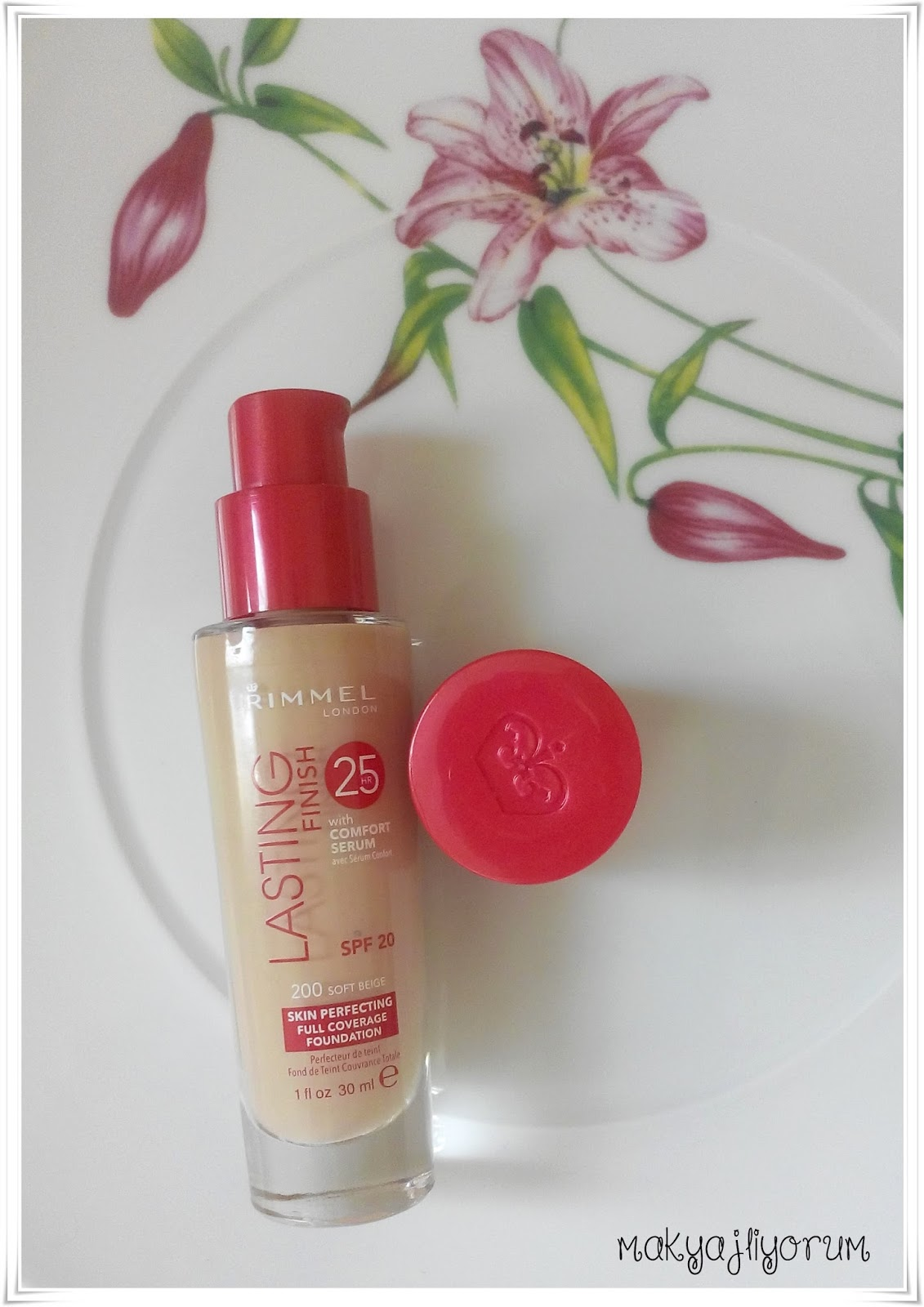 Rimmel London Lasting Finish 25h Fondoten