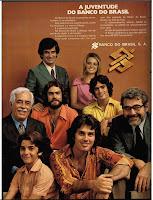 anúncio banco do brasil de 1974.1974.anos 70. década de 70. os anos 70; propaganda na década de 70; Brazil in the 70s, história anos 70; Oswaldo Hernandez;