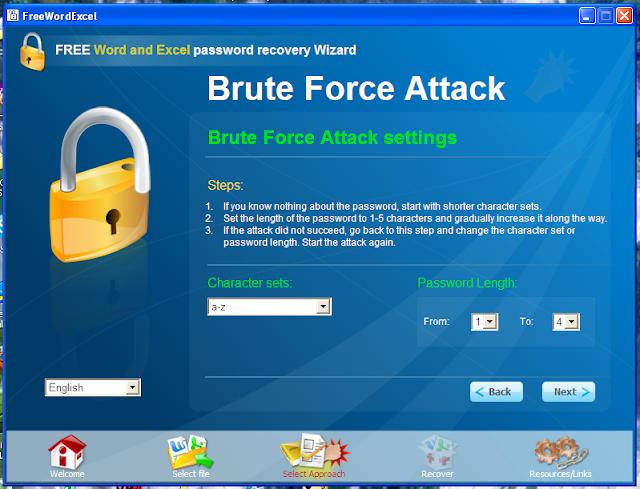khôi phục mật khẩu word và excel 6