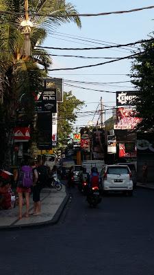 Legian Street - Kuta, Bali