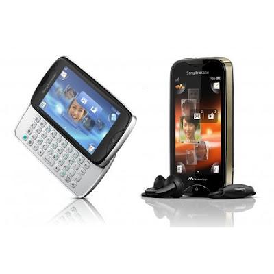 Sony Ericsson Mix Walkman dan TXT Pro Specs