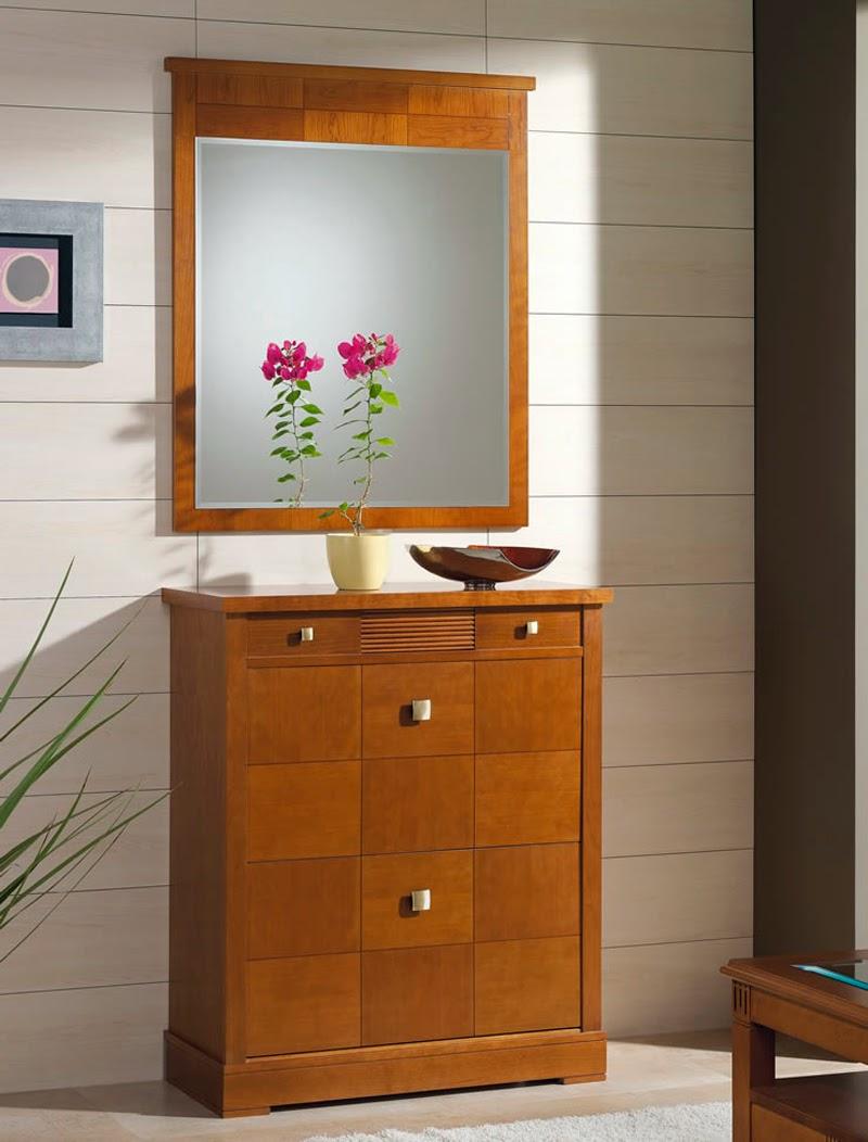 Muebles recibidor pasillos y escaleras decoraci n de - Mueble de recibidor ...