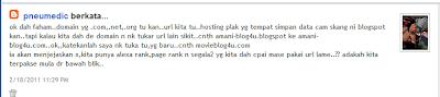 Untitled - Alexa Ranking Sebelum Dan Selepas Tukar Domain