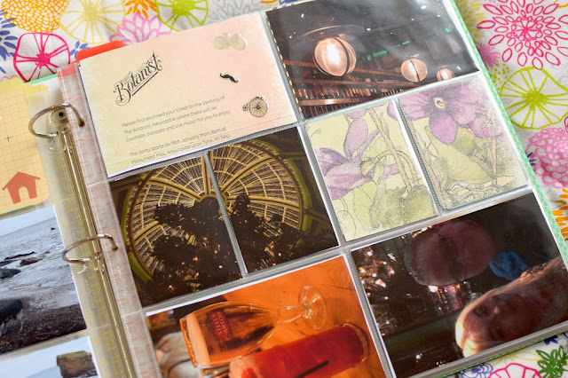 Project Life Scrapbook Pages