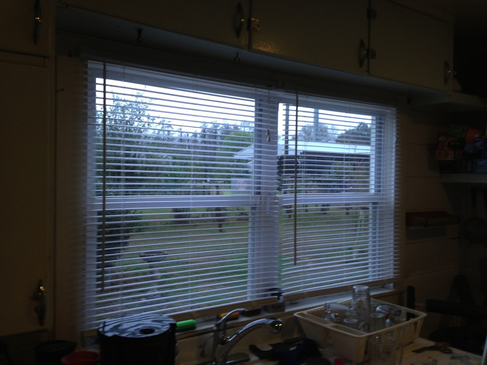Another DIY project: kitchen blinds. | TymberDalton.com