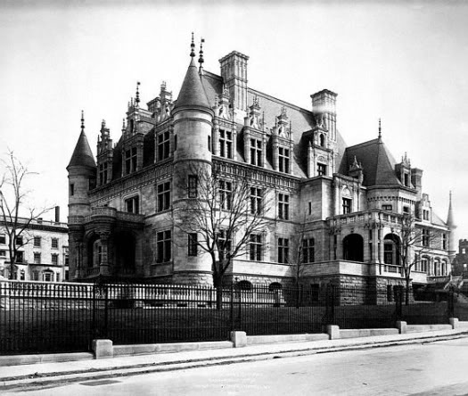 The charles m schwab mansion 1889 victorian house for Old new york mansions