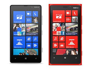 Nokia Lumia 920 and Nokia Lumia 820