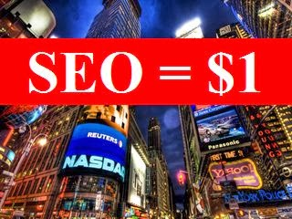 Cheapest SEO Services = $1