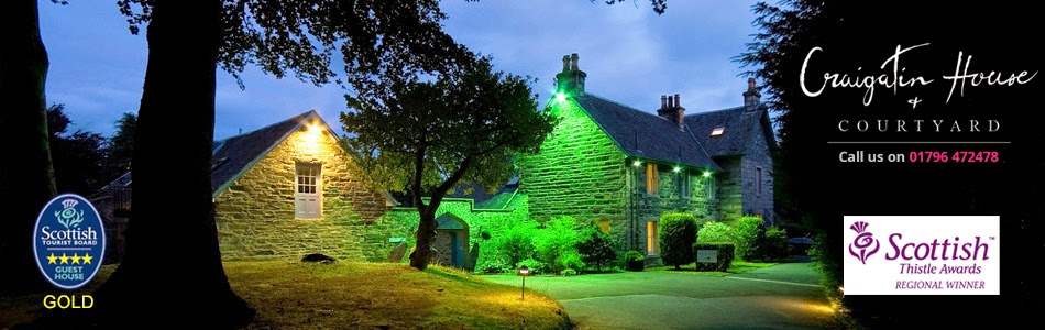 Craigatin House and Courtyard - Pitlochry - Scotland