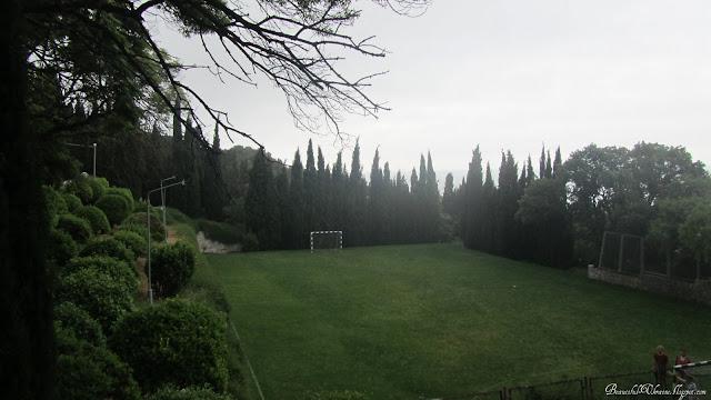 Футбольное поле. Форосский парк