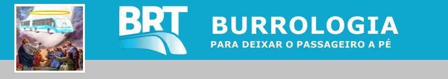 BRT - Burrologia Teimosa - Busologia acomodada e delirante