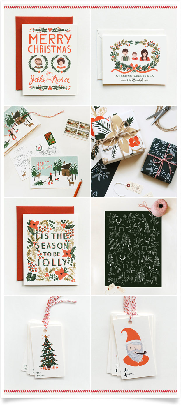 Season's Greetings by Rifle Paper Co.