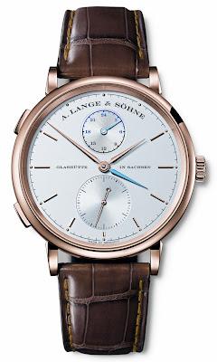 Montre A. Lange & Söhne Saxonia Dual Time Référence 385.032