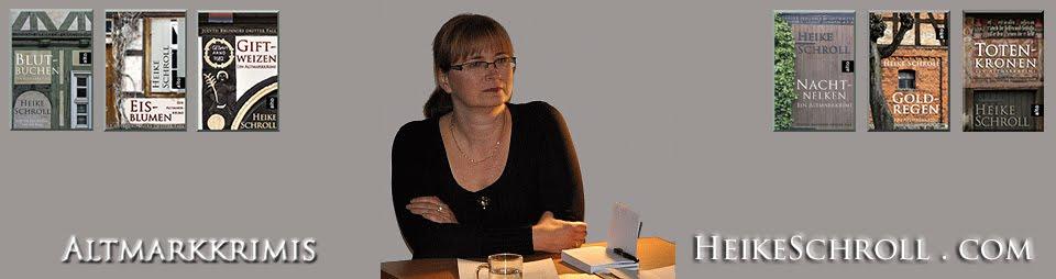 Altmarkkrimis von Heike Schroll - Judith Brunner Romane - Spannung in der Altmark
