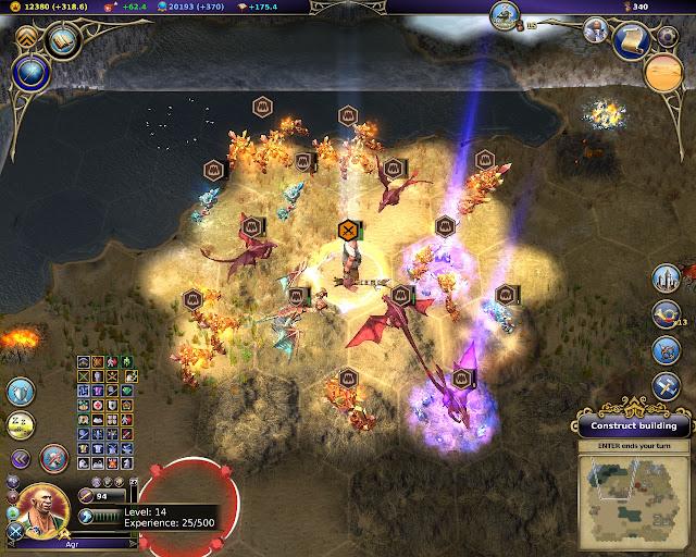 Warlock: Master of the Arcane - Invincible Ogre Hero Description