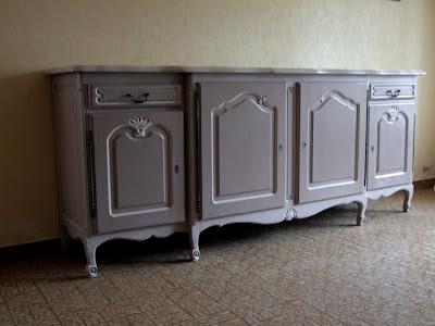 ambiances bois patines enfilade relook e effet frott chaul. Black Bedroom Furniture Sets. Home Design Ideas