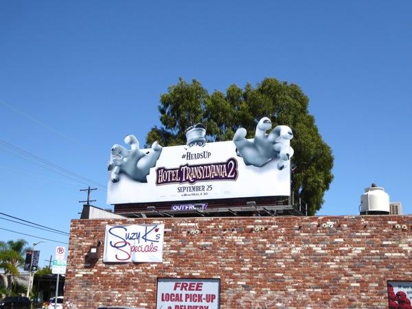 Hotel Transylvania 2 Heads up billboard