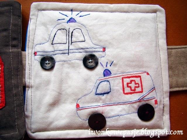 auto policyjne, karetka, police car, ambulance