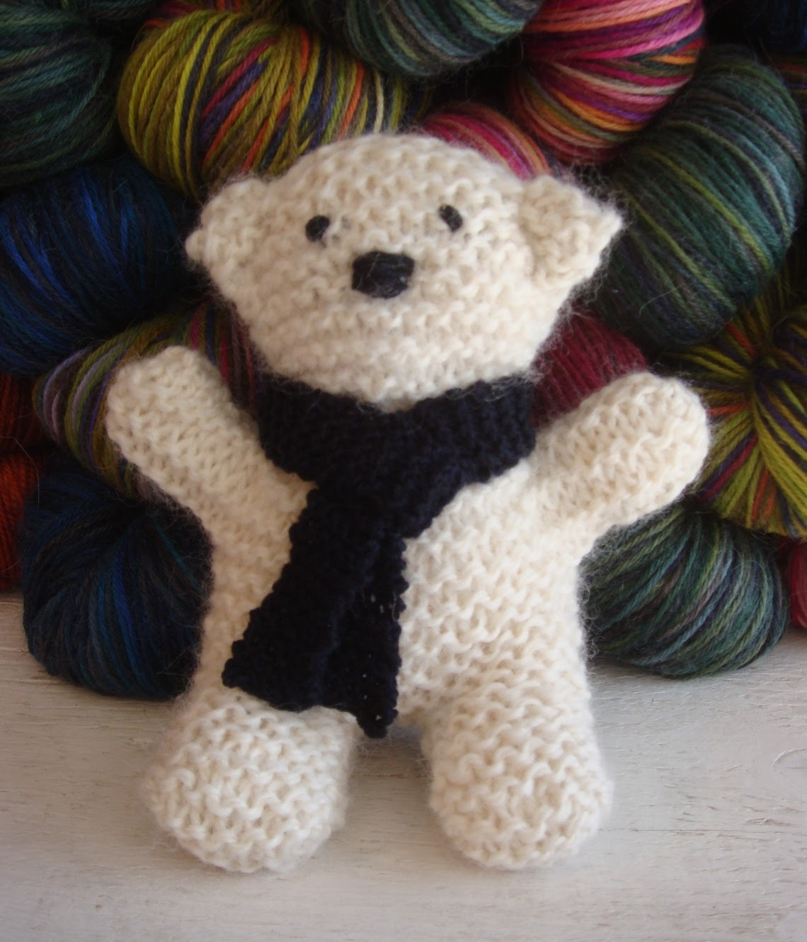 Knit Bear Pattern : Kate Atherley Knits. A Lot. Mainly Socks.: FO & pattern: C ...