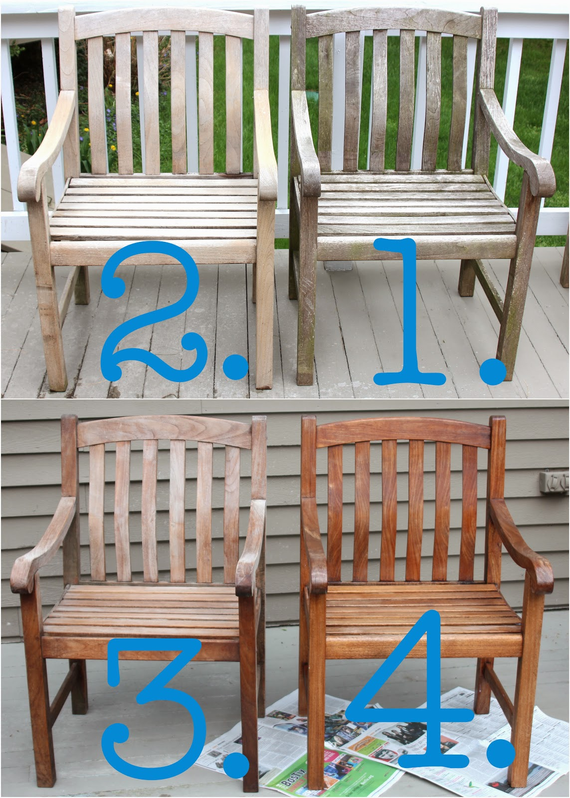 Shine your light cleaning sealing outdoor teak furniture for Teak wood patio furniture