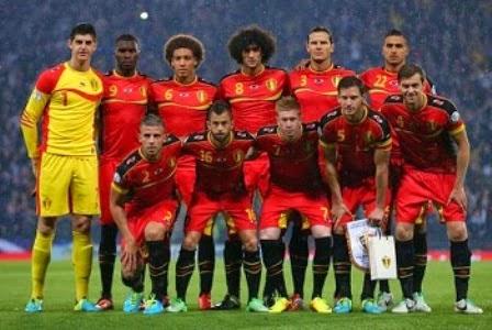 Belgia vs Aljazair